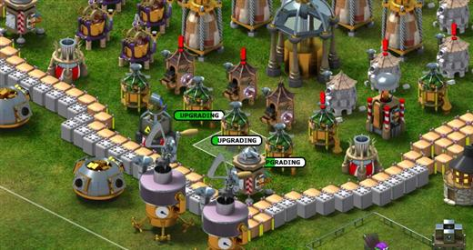 backyard monsters free online tower defense game