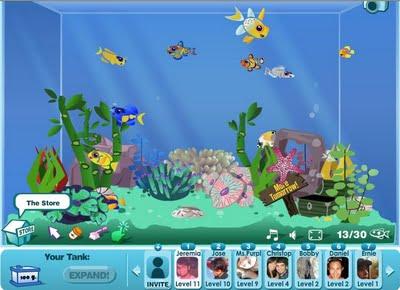 online aquarium game