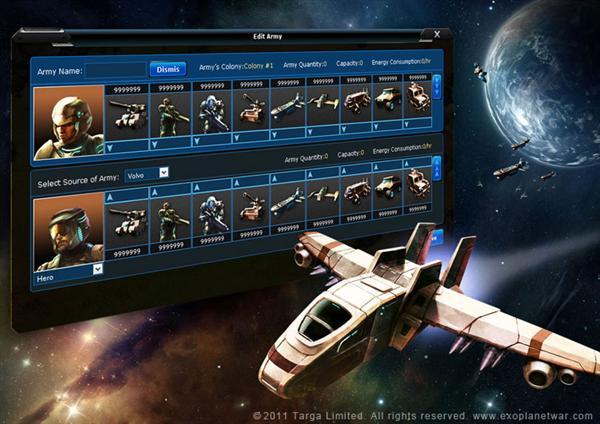 Exoplanet War Gameplay Exoplanet War Mmorts Screen7