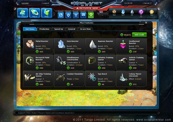 Exoplanet War Gameplay Exoplanet War Mmorts Screen8