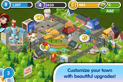 My Town 2 « City Building Game Free for iPhone