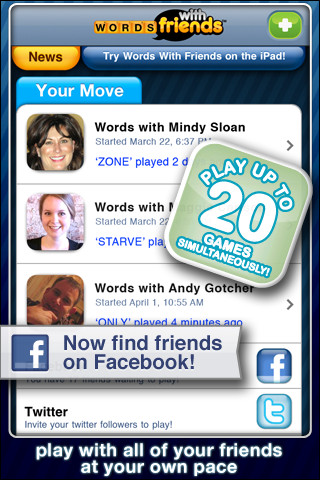 Words with friends online dating