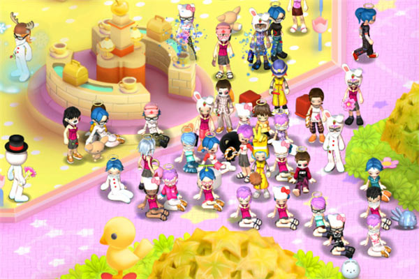 Hello Kitty Online Free MMO For Kids