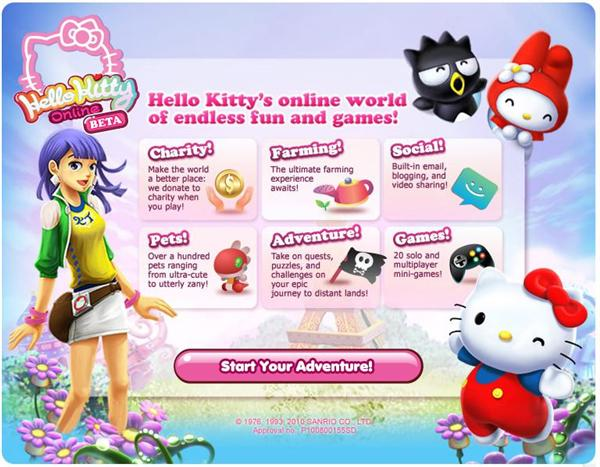 hello kitty games online for kids for free. Black Bedroom Furniture Sets. Home Design Ideas
