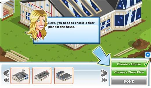 Extreme makeover facebook game House remodeling games online