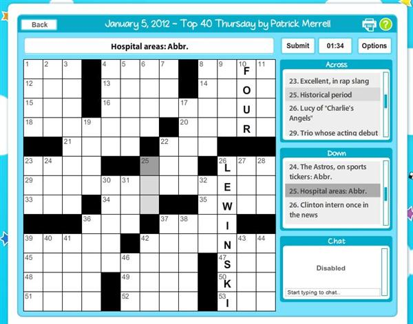 Crossword Daily - Play Online Game For Free | LA Times