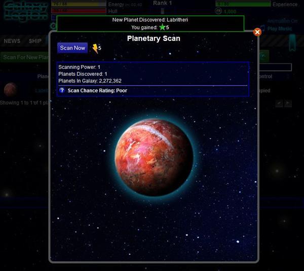 galaxy legion planets