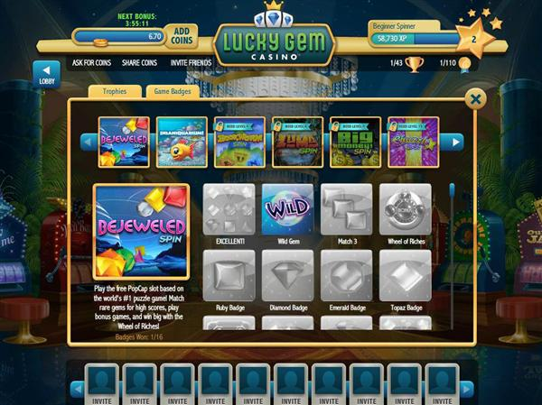 all casino games on facebook