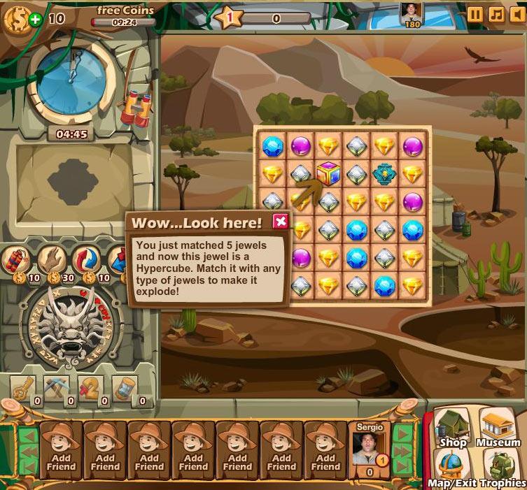 Jewel Journey Game