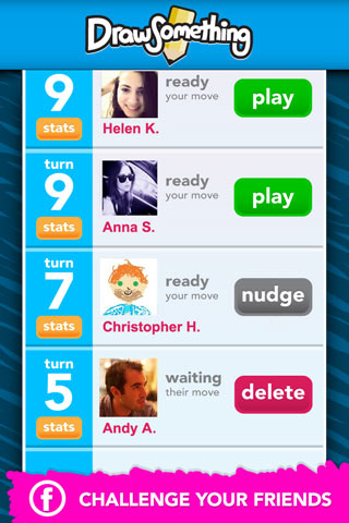 Draw Something Free Play On Iphone And Ipad