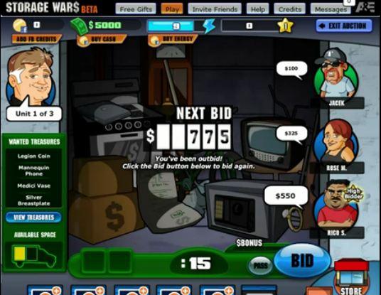 Storage Wars The Game 171 Free On Facebook