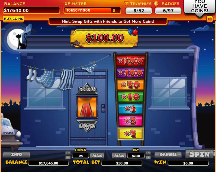 Trophy Slots Review « Facebook Game