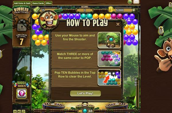 play free facebook games online