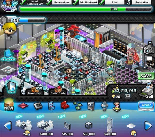 Nightclub City « Free Online Social Game